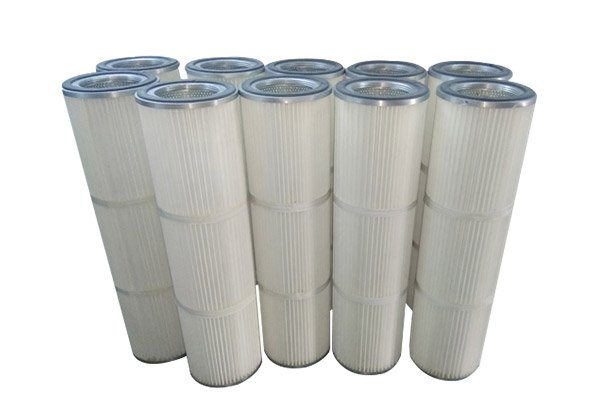 dust collector cartridge filter cleaning