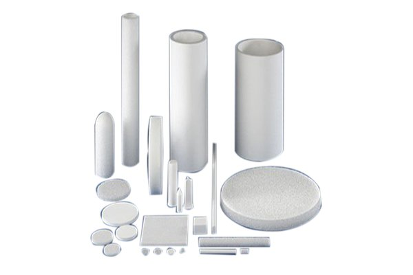 sintered porous plastic filter candles rods disc sheets
