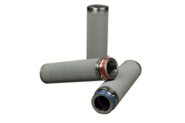 stainless steel sintered powder filter cartridge